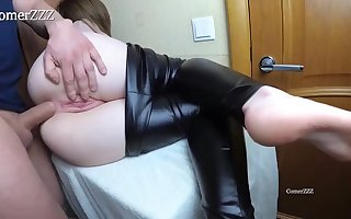 Inexperienced honey is screaming while getting boned in the butt and even hoping to get creampied