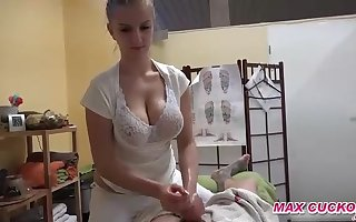 Czech stunner with meaty bosoms is doing everything her customers want, if she gets some money